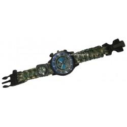 C-3288 Часы наручные +компас, свисток, стропорез