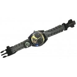 C-3290 Часы наручные +компас, свисток, стропорез