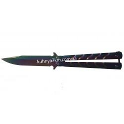 C-3416 Нож Бабочка Хамелеон