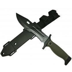 SF-2-281 Нож тактический Columbia пластиковые ножны