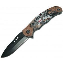 C-3541 Нож раскладной Крестоносец