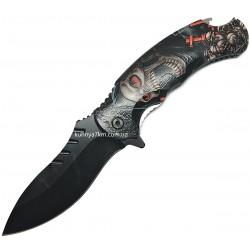 C-3557 Нож раскладной Череп