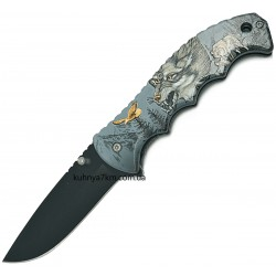C-3558 Нож раскладной Волк