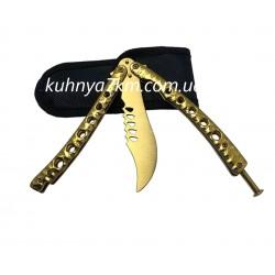 C-3421 Нож Бабочка Хамелеон