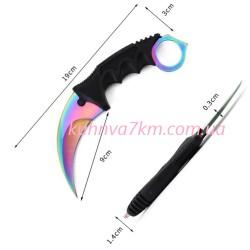 С-3311 Нож керамбит разноцветный