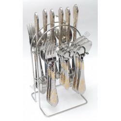 C-1220 Набор по 6 шт.: ложка, вилка, нож, чайная ложка
