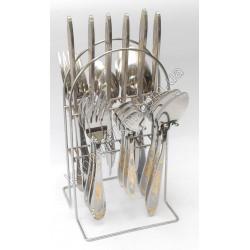 C-1218 Набор по 6 шт.: ложка, вилка, нож, чайная ложка
